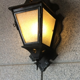A street lamp in Shanghai